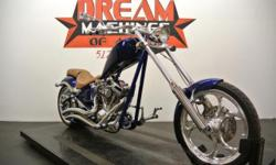 (512) 309-7503 ext.4448 SHIPPING, LEASING, FINANCING AND EXTENDED WARRANTY MAY BE AVAILABLE! YOU ARE LOOKING AT A 2008 BIG DOG K-9 CHOPPER WITH 14,378 MILES ON IT. IT IS BLUE WITH FLAMES IN COLO