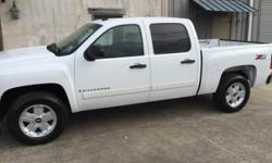 Options:  2008 Chevrolet Silverado 1500 Lt1 4Wd 4Dr Crew Cab 5.8 Ft. Sb White Super Clean Z71. One Owner  No Accidents.  Commuter Hey Miles.  Everything Works As It Should. Tires In Great Shape. Come