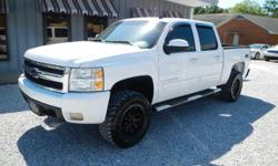 Exterior Color: summit white, Body: Crew Cab Pickup, Engine: 5.3L V8 16V MPFI OHV Flexible Fu, Fuel: FLEXIB, Doors: 4