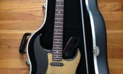 This is a very nice hardly ever used 2008 Fender American Deluxe Stratocaster SSS in EXCELLENT condition. NO scratches, dings or indents of any kind. No signs of any cosmetic wear. Included is the ori