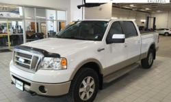 BRING IN THE NEW YEAR WITH GREAT SAVINGS! Eisinger Honda you premier Honda Dealer! King Ranch White *Non-Smoker, AWD / 4WD / 4x4, Tow Package, Local Trade.  Awards:   * 2008 KBB.com Brand Image Awards