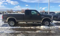 Lariat trim. Leather Interior, CD Player, iPod/MP3 Input, Fourth Passenger Door, Dual Zone A/C, Alloy Wheels, Trailer Hitch, Running Boards, 4x4. READ MORE!======KEY FEATURES INCLUDE: Leather Seats, 4x4, Running Boards, iPod/MP3 Input, CD Player, Trailer