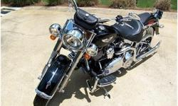 2008 Harley-Davidson Softail DELUXE, 96 CI Six Speed V-Twin Four Stroke, Vivid Black & Tons of Chrome!, All service at HD Dealership, 1,000 Mile Service Completed, Garage Kept - Climate Controlled, Ne