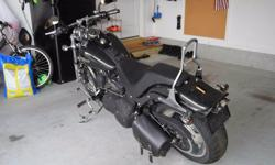 Make: Harley Davidson Model: Other Mileage: 11,572 Mi Year: 2008 Condition: Used Six speed, black pearl color, factory rim upgrades from Harley, side solo bag, Vance and Hines exhaust with power comma