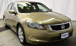 This 2008 Honda Accord Sdn EX is proudly offered by Lujack's You could spend more on fuel each month than on your vehicle payments, so why not consider one with exceptional fuel economy like this 2008