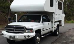 """2008 Host Everest triple slide,11'6"""" Full size Queen bed(replaced with memory foam mattress),full size dry bath w/ large shower,8 Micro/convection oven,gas/electric cooktop,auto DISH GPS satellite sys"""