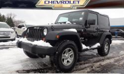 Options:  2008 Jeep Wrangler X|4X4 X 2Dr Suv|**Local Trade-In**|**6Cyl - Unbelievable Pick-Up!**|And **Awd - Never Worry About The Weather!**. 4 Wheel Drive! Real Winner! If You've Been Looking To Get