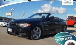 Low miles indicate the vehicle is merely gently used. Call and ask for details! GREENWAY DEAL! Do you want it all, especially low miles? Well, with this attractive 2009 BMW 1 Series, you are going to