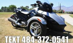 This Can-Am Spyder is bone Stock with low low miles!It has been through and passed our thirty point service inspection and is ready to Cruise the open road!!Take a close look at the pictures and you'l