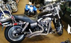 PRE OWNED HARLEY DYNA FAT BOB. ONLY 12,835 MILES. EXCELLENT CONDITION. FINANCING AVAILABLE WITH A $185/MONTH PAYMENT.