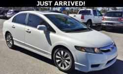 This Civic features: Cloth.  Odometer is 2259 miles below market average! 36/25 Highway/City MPG  Awards:   * 2009 KBB.com Best Resale Value Awards  For more information, visit  Kelley Blue Book is a registered trademark of Kelley Blue Book Co., Inc.  Buy