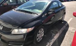 This 2009 Honda Civic Cpe LX is proudly offered by Sussex Honda Your buying risks are reduced thanks to a CARFAX BuyBack Guarantee.  When it comes to high fuel economy, plenty of versatility and a gre