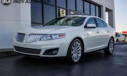 Options:  2009 Lincoln Mks Base|2009 Lincoln Mks Awd White New Price! Priced Below Kbb Fair Purchase Price! Clean Carfax. Regular Oil Changes|Gps Navigation|Sunroof|Rear View Camera|Bluetooth|Hands-Fr