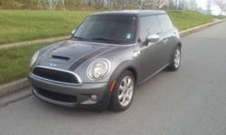 I have for sale a 2009 Mini Cooper S 1.6 L 4-cylinder , 172 hp. Currently has 102K miles on it, runs and drives great. It gets Up to 26 city / 34 highway . Has power tinted windows, power door locks,