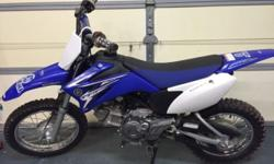 I am selling my sons ttr-110. Bike is an 09 that was purchased new in 2013. Bike is in excellent condition. Well taken care of. This ad was posted with the eBay Classifieds mobile app.