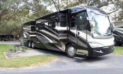 Model 42T Bath & half with a full-wall slide-out plus 2 additional slide-outs. This late model year production coach is absolutely in Show Room condition and offered by the original owners who are ret