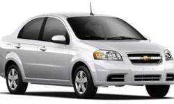 LT w/1LT trim. FUEL EFFICIENT 35 MPG Hwy/27 MPG City! Onboard Communications System, CD Player, iPod/MP3 Input, CarAndDriver.com explains The Aveo's biggest strength is its low price.. 5 Star Driver F