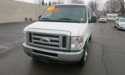 Body Style: Van Engine: Exterior Color: Oxford White Interior Color: GrayY Mileage: 79035Used Options: Rear Wheel Drive, Power Steering, 4-Wheel Disc Brakes, Tires - Front All-Season, Tires - Rear All