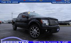 2010 Ford F-150 Harley-Davidson Accident Free AutoCheck History Report*, F-150 Harley-Davidson, 4D SuperCrew, 5.4L V8 EFI 24V FFV, 6-Speed Automatic Electronic, 4WD, Black, Black Leather, 20'' Polishe
