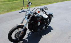 Make: Harley Davidson Model: Other Mileage: 1,800 Mi Year: 2010 Condition: Used The 2010 Harley-Davidson Dyna Street Bob FXDB is a classic bobber motorcycle. If you're looking for bobber motorcycles y