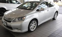 2.4L I4 DOHC 16V VVT-i and XM NavTraffic & NavWeather. Nav! WOW! HYBRID! There is no better time than now to buy this attractive 2010 Lexus HS. J.D. Power and Associates gave the 2010 HS 4.5 out of 5