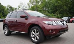 This 2010 Nissan Murano SL is a very clean. This vehicle come standard with heated leather seats, standard navigation and panoramic moon roof. We have put it through our service department and mounted