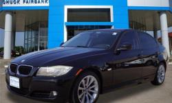 This 2011 BMW 3 Series 328i is offered to you for sale by Chuck Fairbanks Chevrolet. Drive home in your new pre-owned vehicle with the knowledge you're fully backed by the CARFAX Buyback Guarantee. Be