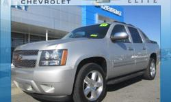 6-Speed Automatic and 4WD. Flex Fuel! Silver Bullet! Looking for an amazing value on a terrific 2011 Chevrolet Avalanche 1500? Well, this is IT! Climb into this fantastic one-owner Avalanche 1500 and