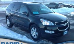 You can find this 2011 Chevrolet Traverse LT w/2LT and many others like it at Rapid Chevrolet. Off-road or on the street, this Chevrolet Traverse LT w/2LT handles with ease. Simply put, this all wheel