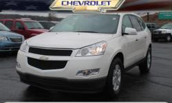 Options:  2011 Chevrolet Traverse Lt|Lt 4Dr Suv W/1Lt|**Local Trade-In**|**Second Row Captains Chairs!**|And **3Rd Row Seating!**. Don't Let The Miles Fool You! Are You Ready For A Chevrolet|! If You'