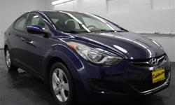 New Price! *LOCAL TRADE*, *CLEAN CARFAX*, *HARD TO FIND!*, *INSPECTED AND DETAILED*, *READY FOR WINTER*, Bluetooth, Back-Up Camera, Satelite Radio, Elantra GLS, 4D Sedan, 1.8L 4-Cylinder DOHC 16V Dual