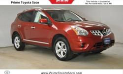 CARFAX One-Owner! 2011 Nissan Rogue SV in Cayenne Red! With these sought after options All Wheel Drive, MP3- USB / I-Pod Ready, Back Up Camera, Sun Roof, Fog Lights, Power Locks, Power Windows, Cruise