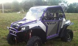 2011 Polaris RZR 800 S, 1293 miles, 160 hours.ProArmour doors, SSV Works stereo system, ProArmour safety harnesses, full skid plates, windshield, rock sliders, cargo box, Walker Evans Racing shocks, L