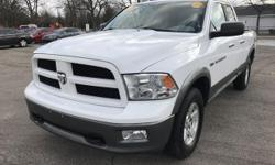 LOW MILAGE OUTDOORSMAN EDITION DODGE RAM 1500 POWER WINDOWS LOCKS AND MIRRORS. 5.7 LITER HEMI ENGINE Please call us a if you would like more information. Thank you for visiting Grand Rapids' and