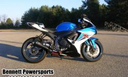 For Sale 2011 Suzuki GSXR600, When your in the market for a bike that comes with a world class racing pedigree you can't do a whole lot better than the Suzuki GSXR600. This bike is truly in a class of