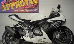 2011 Suzuki GSXR600 sport bike for sale with only 1,798 miles! Perfect, perfect, perfect! And only 1,798 miles! This Jixxer is not even broken in yet! Pearl white paint is perfect, Fender Eliminator k