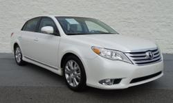 EPA 29 MPG Hwy/20 MPG City! CARFAX 1-Owner, ONLY 63,678 Miles! Avalon trim. Leather, Moonroof, Premium Sound System, Satellite Radio, Back-Up Camera, EXTRA COST PAINT, Aluminum Wheels. CLICK NOW!  KEY