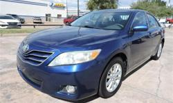 We are excited to offer this 2011 Toyota Camry. How to protect your purchase? CARFAX BuyBack Guarantee got you covered. When it comes to high fuel economy, plenty of versatility and a great looks, thi