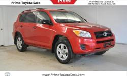 CARFAX One-Owner! Toyota Certified! 2011 Toyota RAV4 in Barcelona Red Metallic! With these sought after options: Four Wheel Drive, MP3- USB / I-Pod Ready, Power Locks, Power Windows, Cruise Control, K