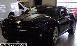 2012 Chevrolet Camaro 1LT In Black, GM CERTIFIED, ** CLEAN VEHICLE HISTORYNO ACCIDENTS **, ONE OWNER, and ** RECENT TRADE IN **. Camaro 1LT 1LT and 2D Coupe. Set down the mouse because this 2012 Chevr