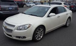 **CarFax One Owner**, Sunroof/Moonroof, Leather Seats, and Heated Seats. Malibu LTZ 1LZ and White. Yeah baby! You win!   Price Dover, home of the Used Car Super Stars at the World Famous Used Car Supe