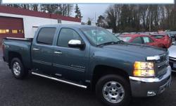 Just Reduced! 2012 Chevrolet Silverado 1500 LT Vortec 5.3L V8 SFI VVT Flex Fuel Blue Priced below KBB Fair Purchase Price! CARFAX One-Owner. Clean CARFAX. TGH internet priced, 6-Speed Automatic Electr