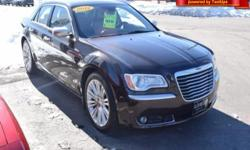 Here's a great deal on a 2012 Chrysler 300C! This is an excellent vehicle at an affordable price! This 4 door, 5 passenger sedan has just over 25,000 miles! Top features include rain sensing wipers, p
