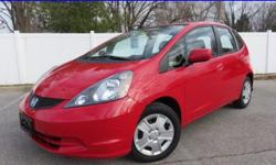 ***HARD TO FIND***SUPER RED***OVER 40 MPG***GREAT MILES***CLEAN CARFAX***ENVIRONMENTALLY FRIENDLY*** Want to save some money? Get the NEW look for the used price on this one owner vehicle. Previous owner purchased it brand new! This terrific Honda is one
