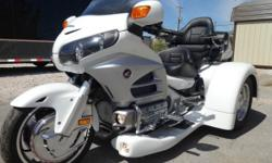 2012 HONDA GOLDWING TRIKE COMPLETELY LOADED! 8,845 MILES HEATED SEATS SEATED GRIPS CRUISE REVERSE RADIO ADJUSTABLE HEIGHT RIDE TRIKE IS BASICALLY LOADED PLEASE COME AND SEE FOR YOURSELF! LOCATED IN KN