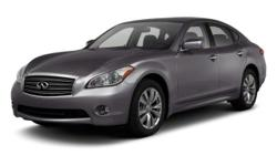 2012 Infiniti M37 EXCLUSIVE LIFETIME WARRANTY!!. 26/18 Highway/City MPGAwards:  * 2012 JD Power Initial Quality Study  * 2012 IIHS Top Safety Pick4-Wheel Disc Brakes, 6 Speakers, ABS brakes, Air Conditioning, Alloy wheels, AM/FM radio: XM, Anti-whiplash