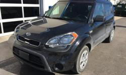 CARFAX One-Owner. Clean CARFAX. 2012 Kia Soul in Shadow, 4 Speakers, ABS brakes, Air Conditioning, AM/FM/CD/MP3 Audio System, Electronic Stability Control, Low tire pressure warning, Steering wheel mo