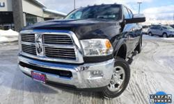 Options:  2012 Ram 3500 Laramie|Black|Leather Trim 40/20/40 Bench Seat|Radio: Uconnect 730N Cd/Dvd/Mp3/Hdd/Nav|Heated Front Seats|Rear 60/40 Split Folding Seat|115V Auxiliary Power Outlet|Power Lumbar