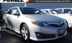 LOCALLY OWNED AND TRADED... ***TOYOTA CAMRY SE*** Completely reconditioned and ready for many more years of reliable driving. Priced below KBB Retail!!! Rack up savings on this specially-priced Vehicl
