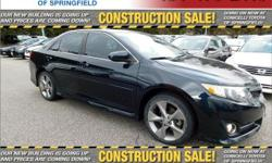 THIS VEHICLE IS PROUDLY OFFERED AT OUR SPRINGFIELD LOCATION!!!CAL FOR DETAIL'S... PRICED BELOW MARKET! THIS CAMRY WILL SELL FAST! -NAVIGATION SYSTEM, BLUETOOTH, SATELLITE RADIO, HD RADIO, AND KEYLESS